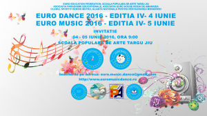 EURO MUSIC DANCE 2016